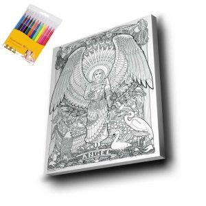 Melek Mandala Tuval