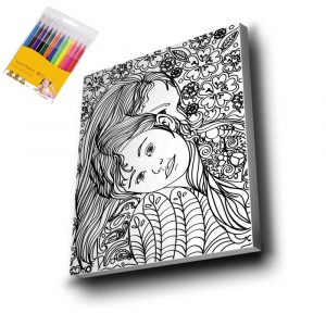 Anne & Çocuk Mandala Tuval