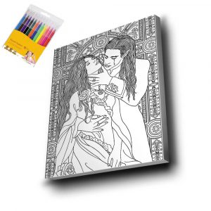 Aşk Mandala Tuval