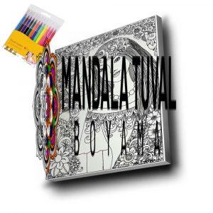 Kadın Mandala Tuval